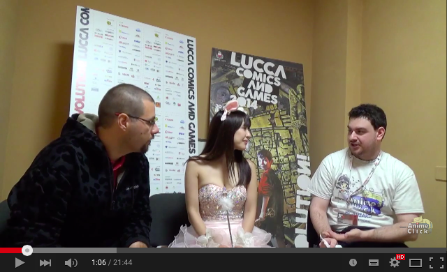 Interview pour AnimeClick.it